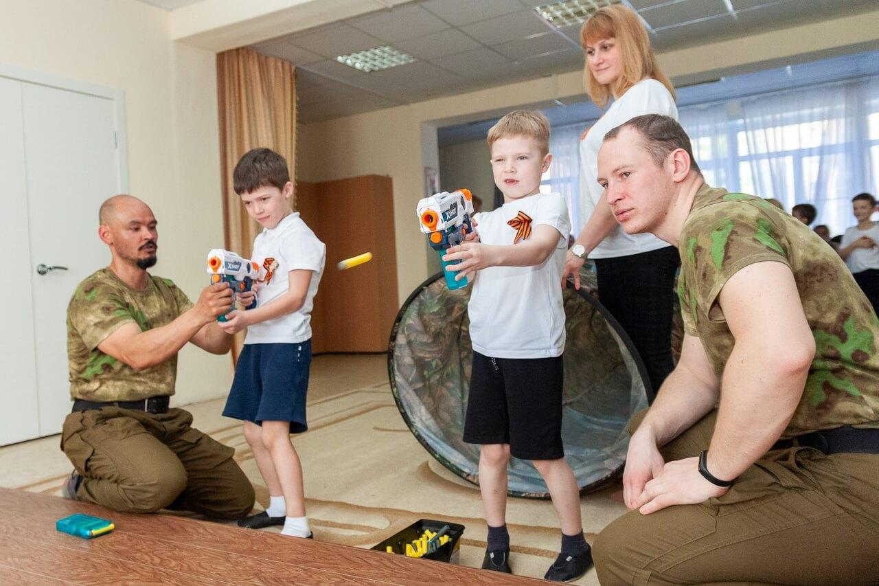 военно патриотическая игра зарница в детском саду