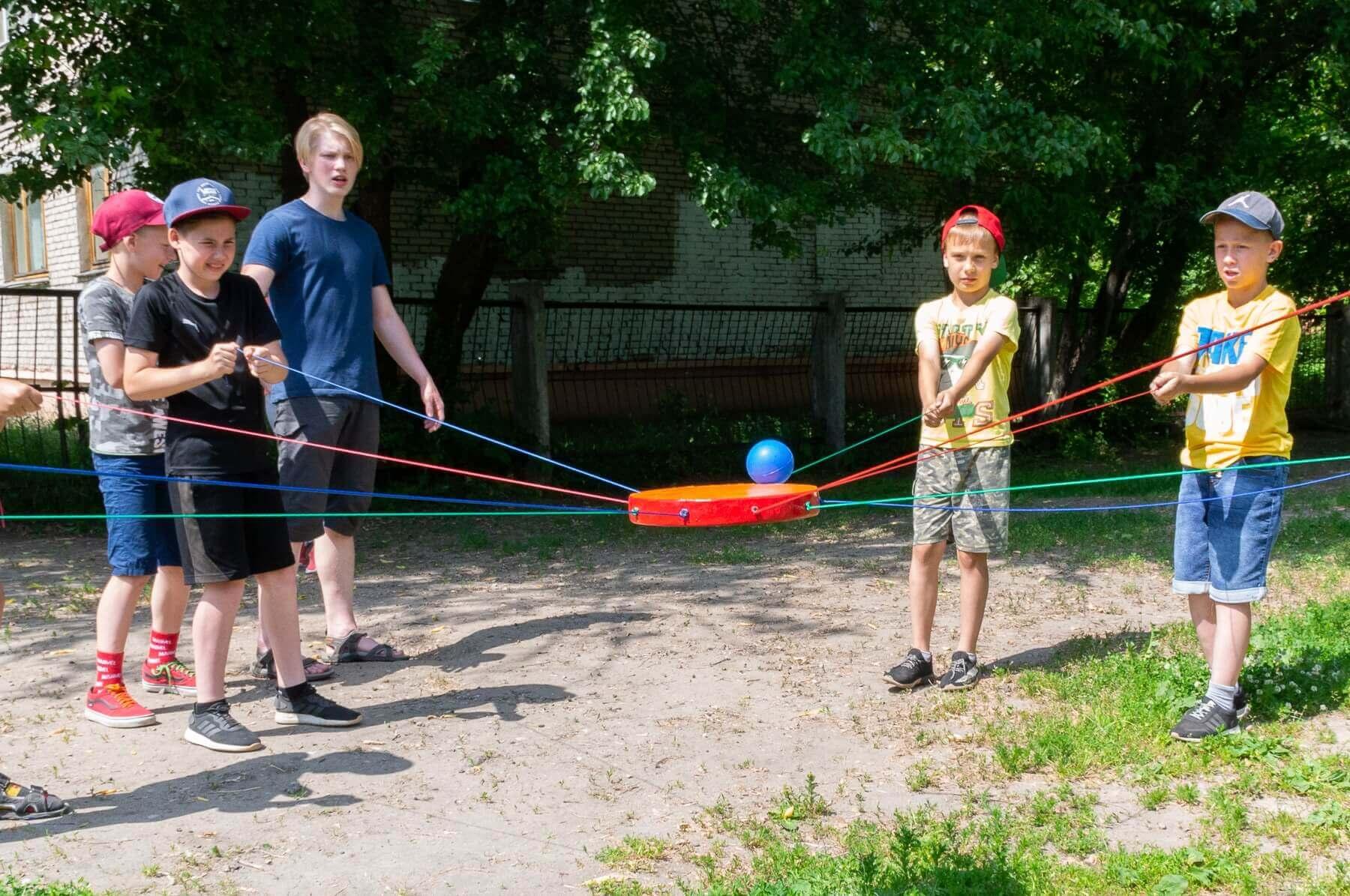 активные игры для школьников