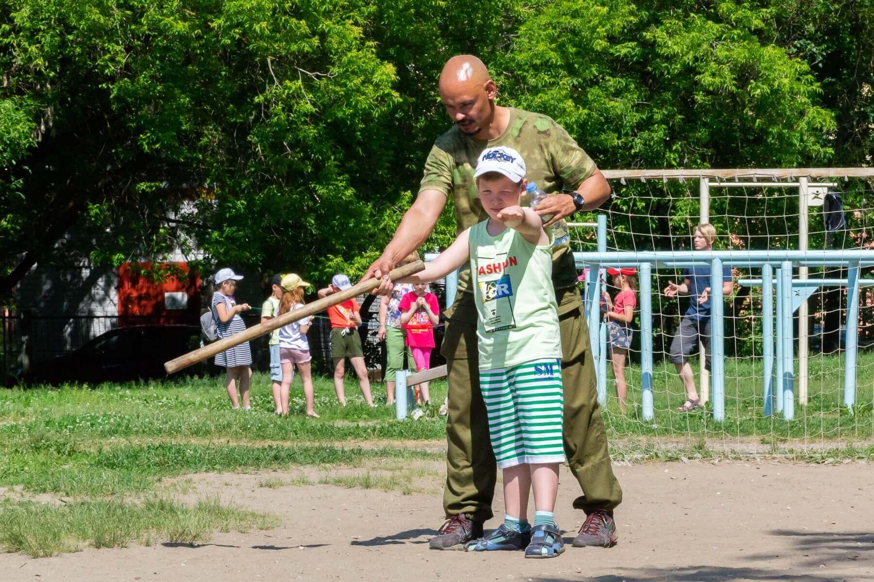 активные игры для школьников, городки