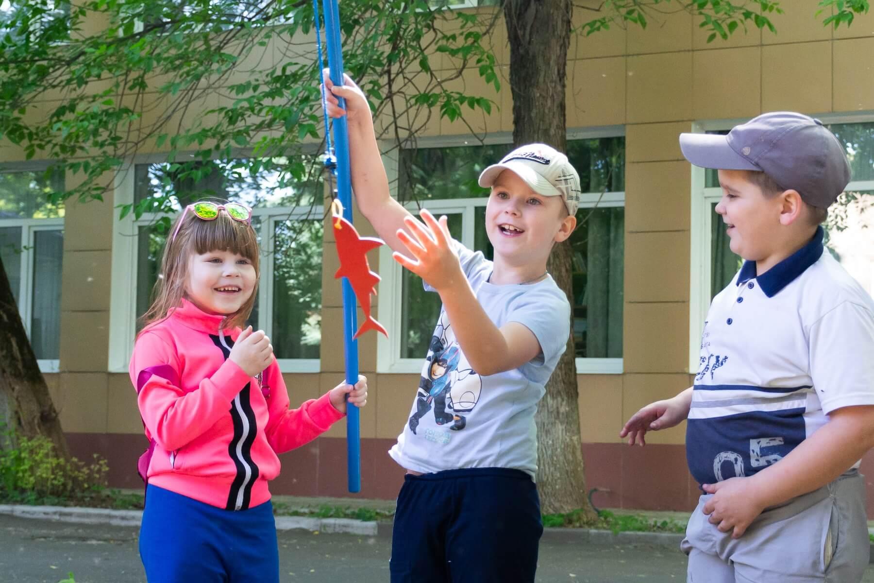 летние игры для школьников