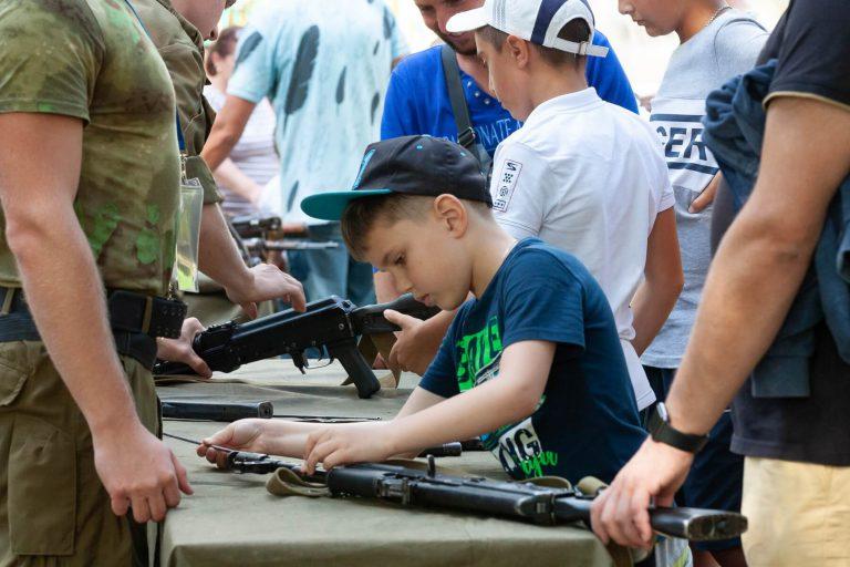 масса габаритные макеты оружия