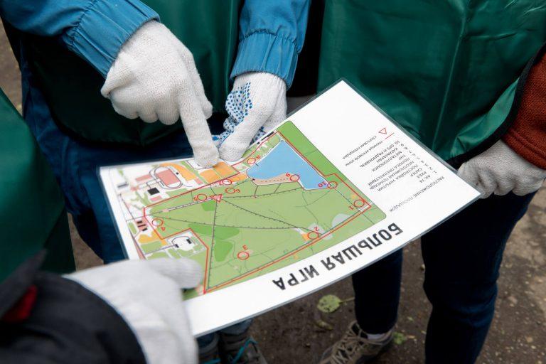 Большая игра в Подмосковье карта