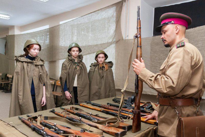 военный мастер класс