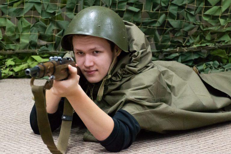 квест на военную тематику