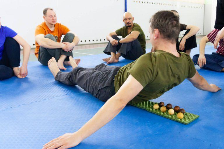 шары для массажа спины
