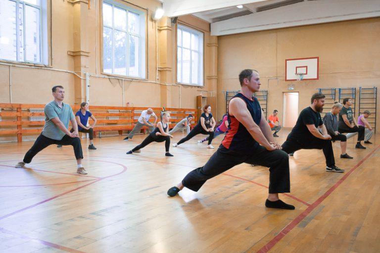 оздоровительный комплекс упражнения цигун