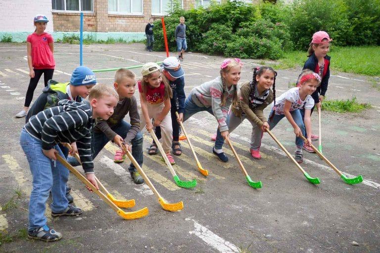 активные игры для детей начальных классов