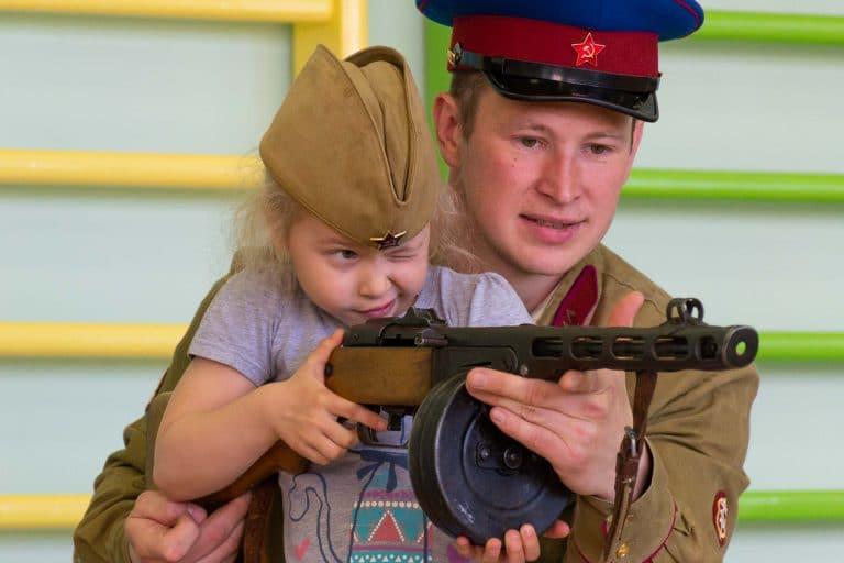 макеты оружия второй мировой войны