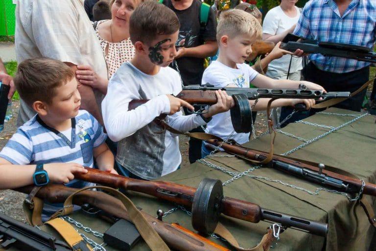 Выставка оружия великой отечественной войны 1941 1945