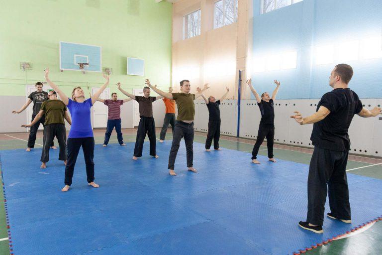 производственная гимнастика комплекс упражнений