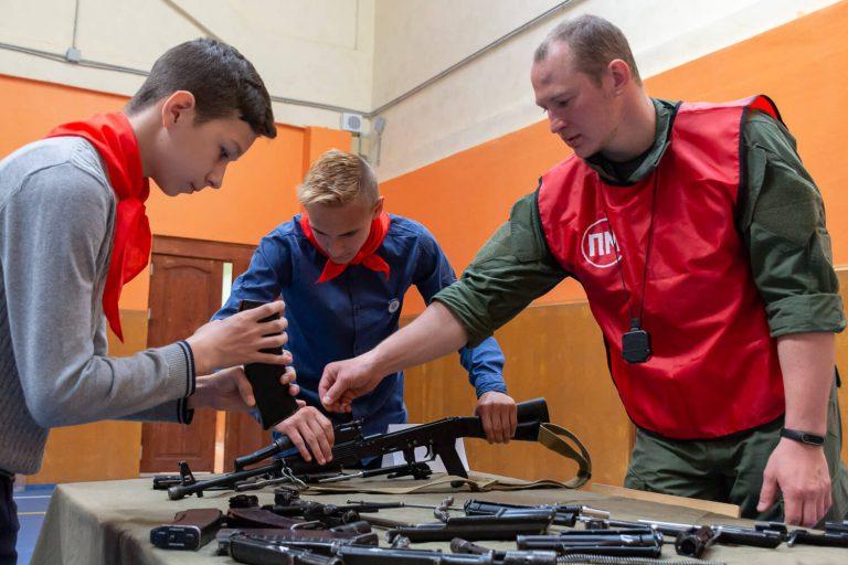 сборка разборка оружия мастер класс