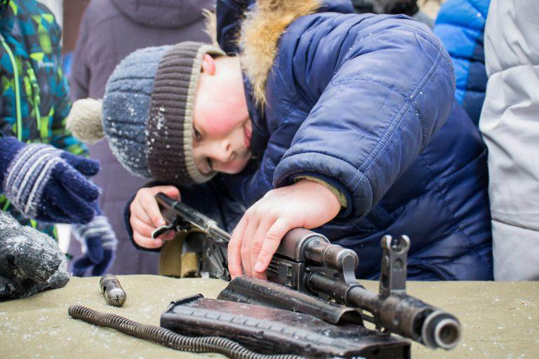 макеты оружия для детей
