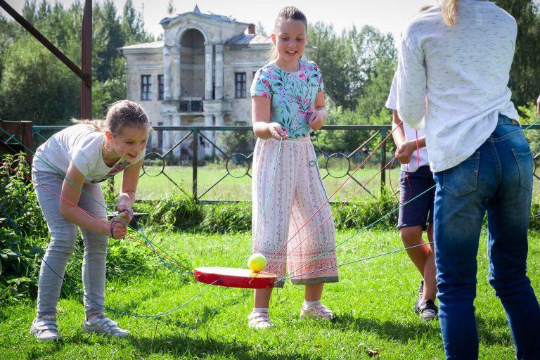 командная игра солнышко для детей и взрослых