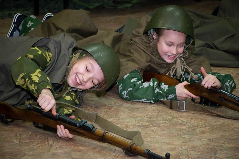 Военно-патриотическая игра для школьников