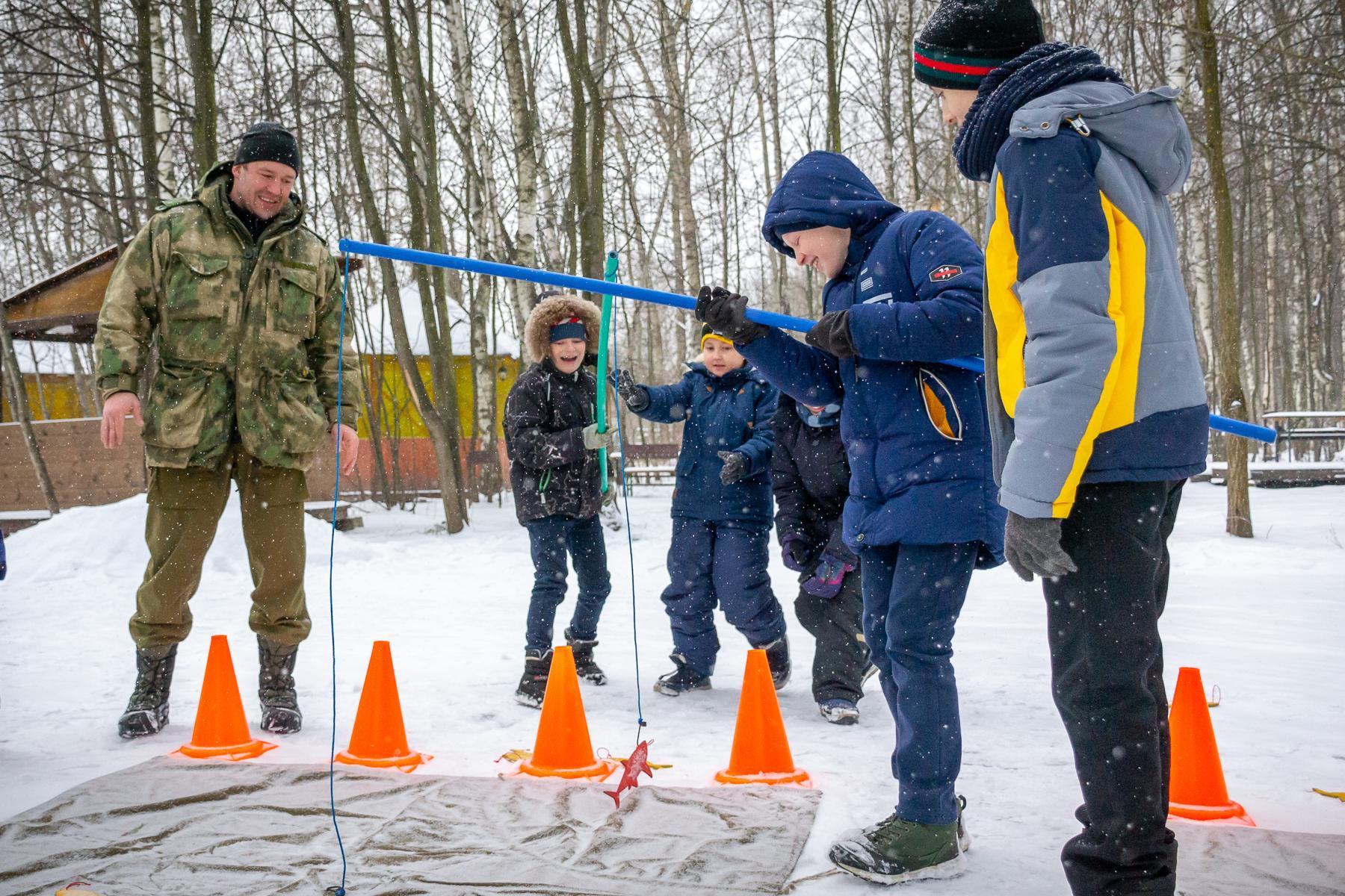 зимние детские игры на улице