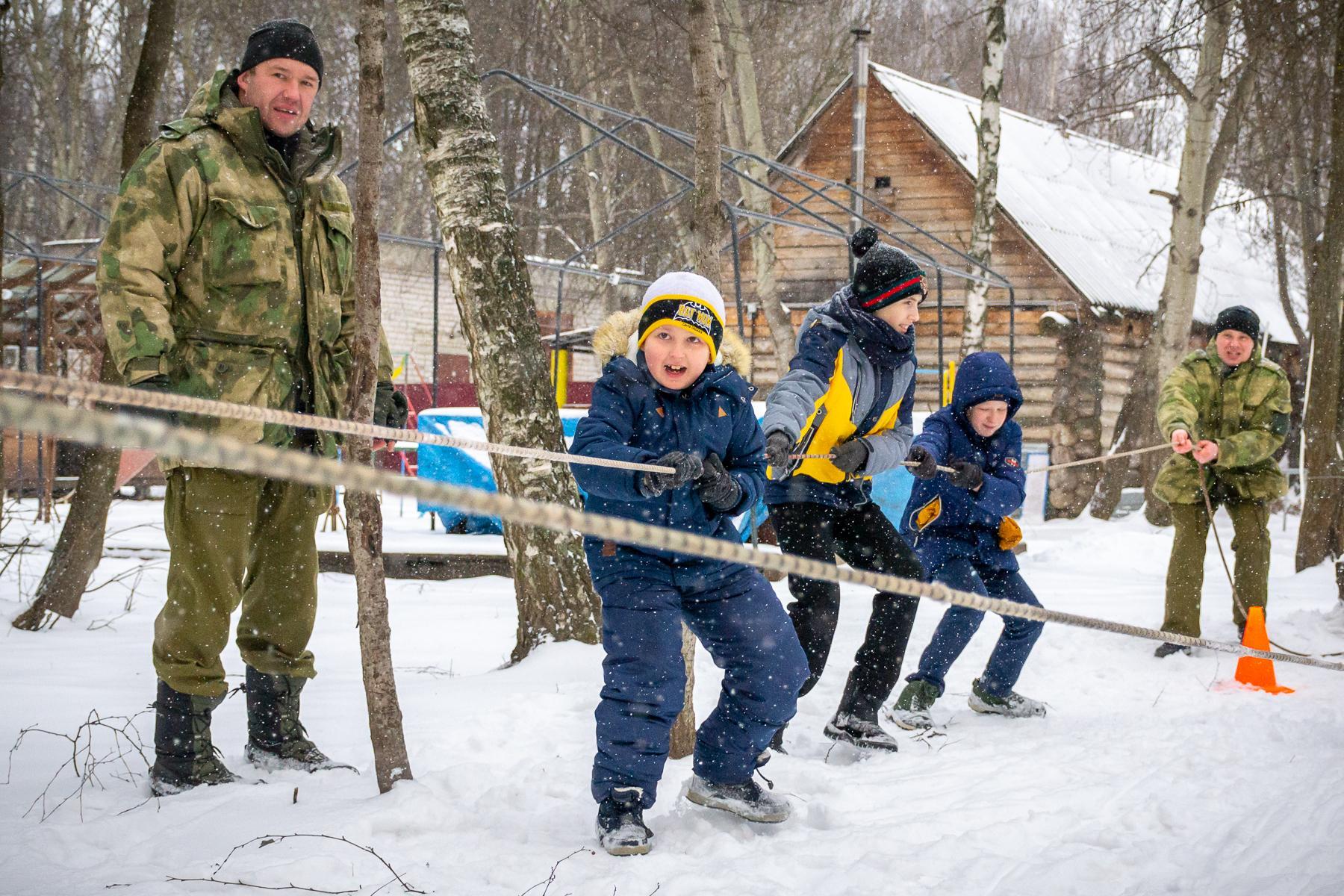 зимние игры на улице для школьников