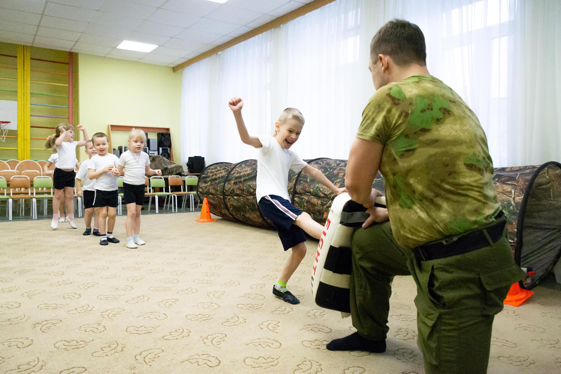 активные игры для дошкольников
