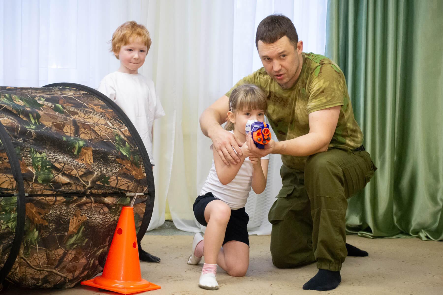активные игры для малышей