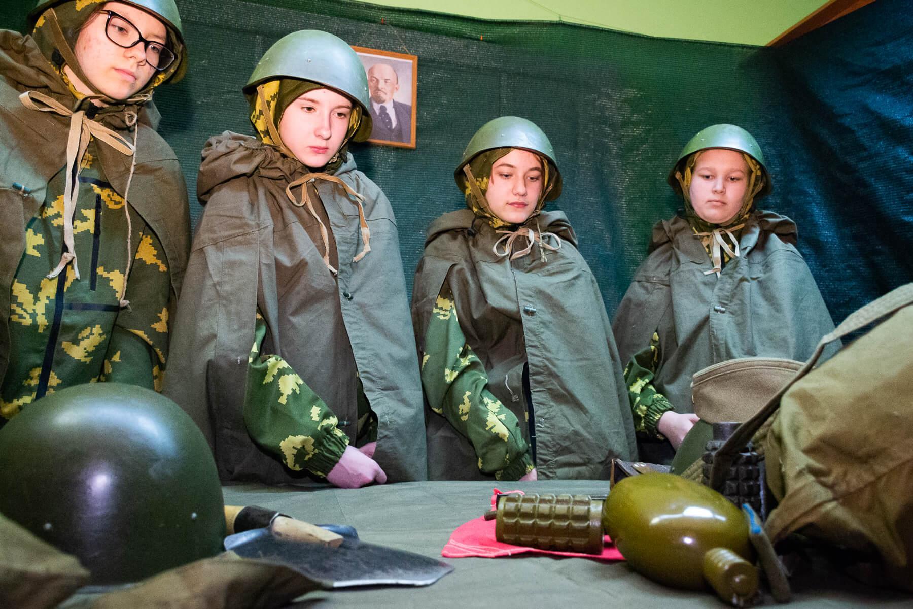 мастер классы на военную тематику